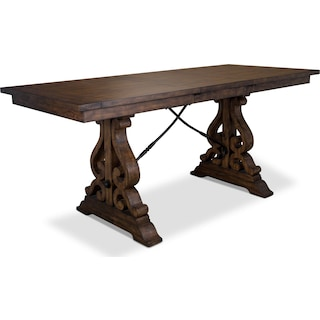 Charthouse Counter-Height Dining Table and 4 Stools