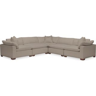 Plush Performance 5-Piece Sectional