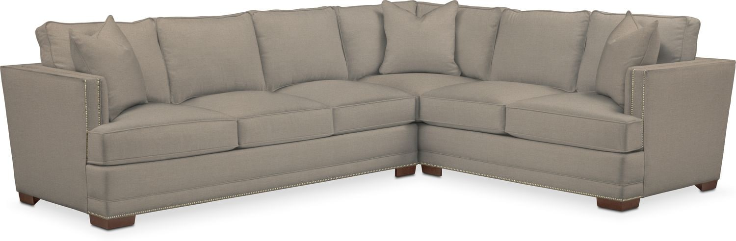 Living Room Furniture - Arden Performance 2-Piece Large Sectional