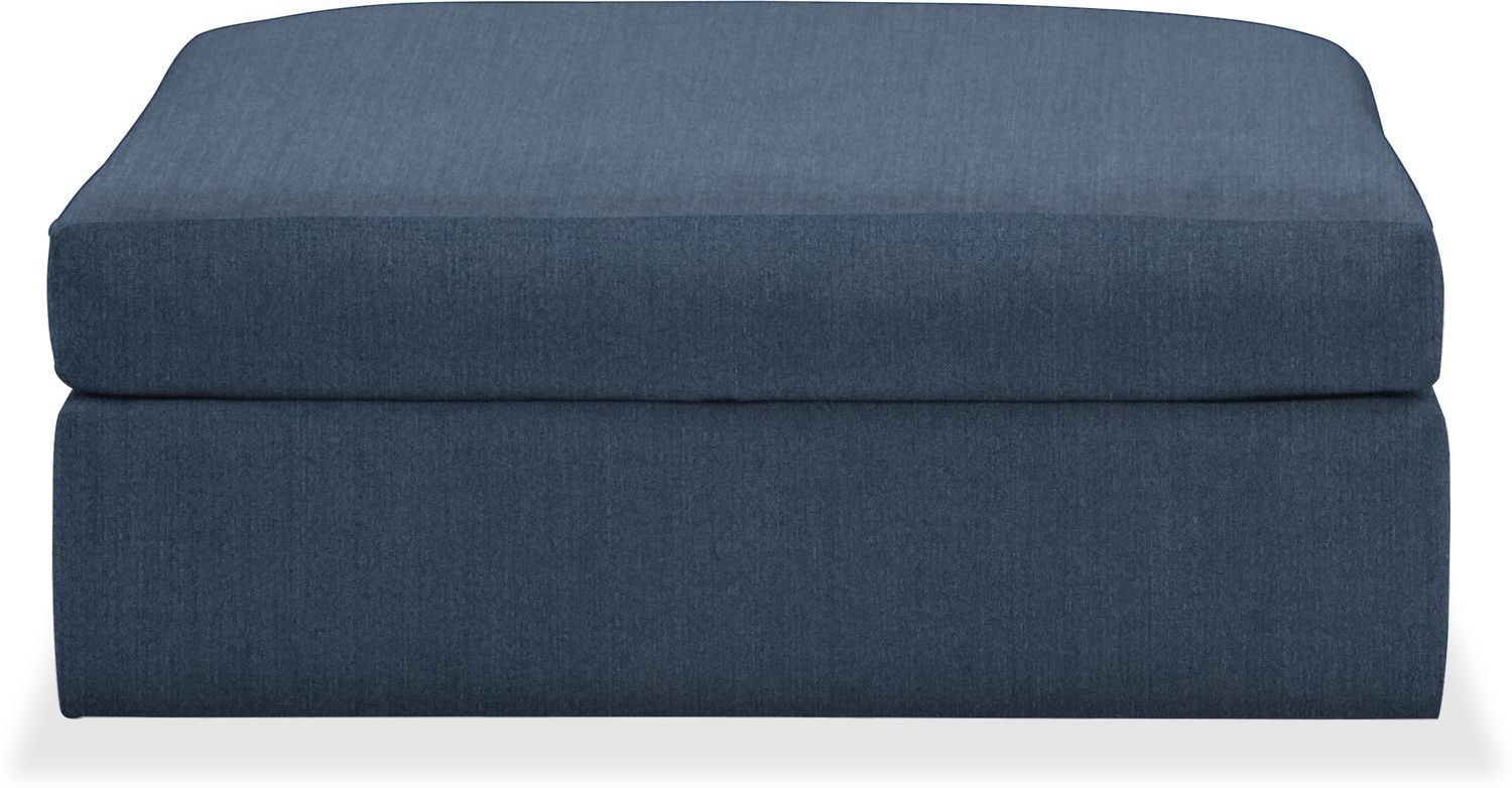 Living Room Furniture - Collin Performance Ottoman