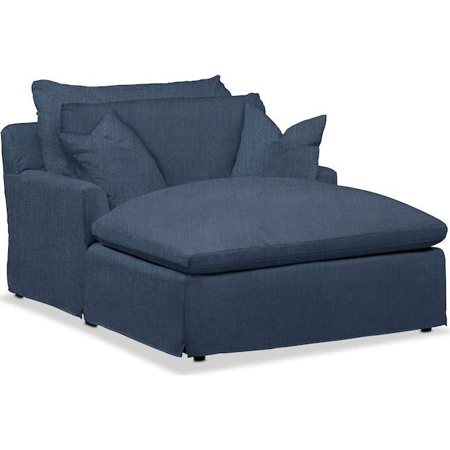 Living Room Furniture - Plush Performance Chaise