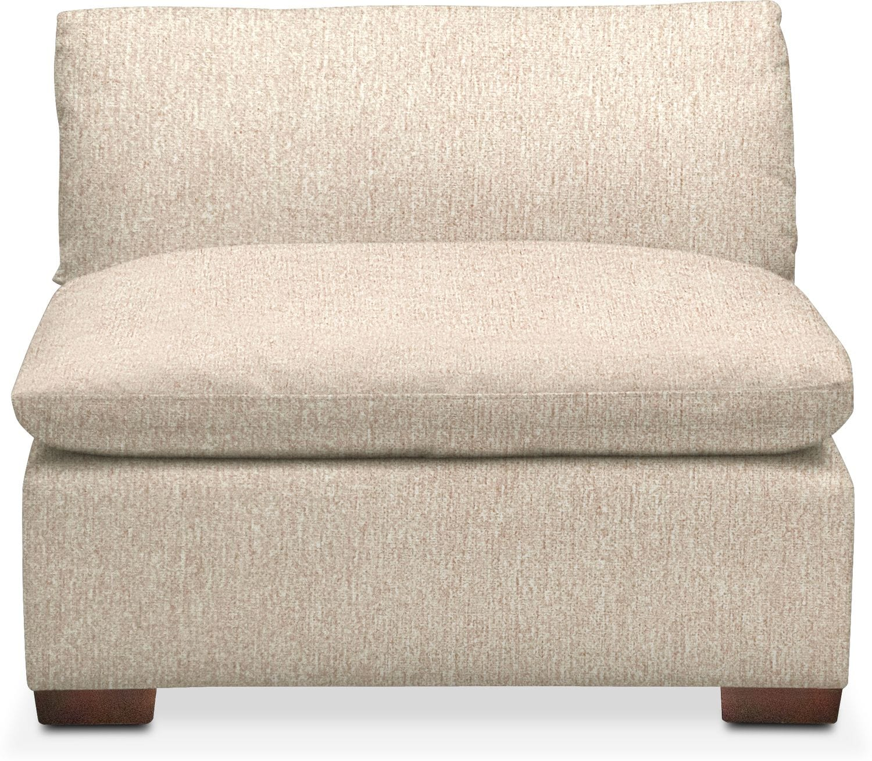 Living Room Furniture - Plush Performance Armless Chair
