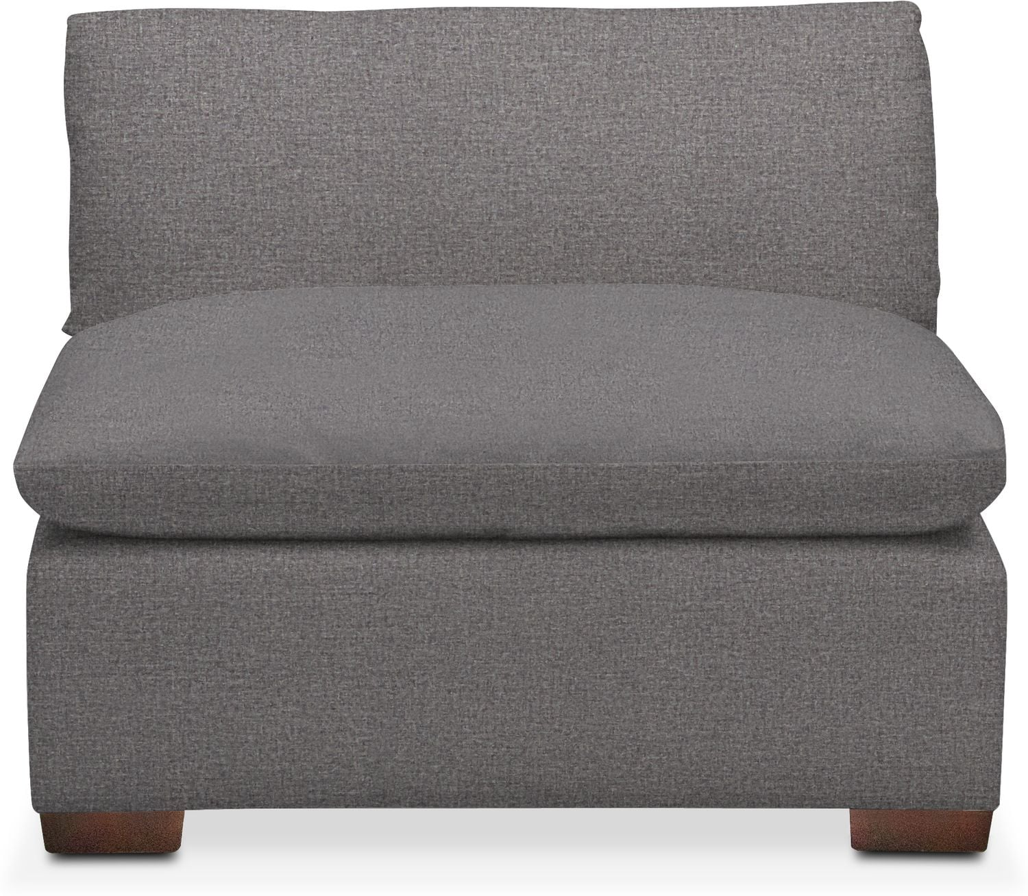 Living Room Furniture - Plush Performance Armless Chair