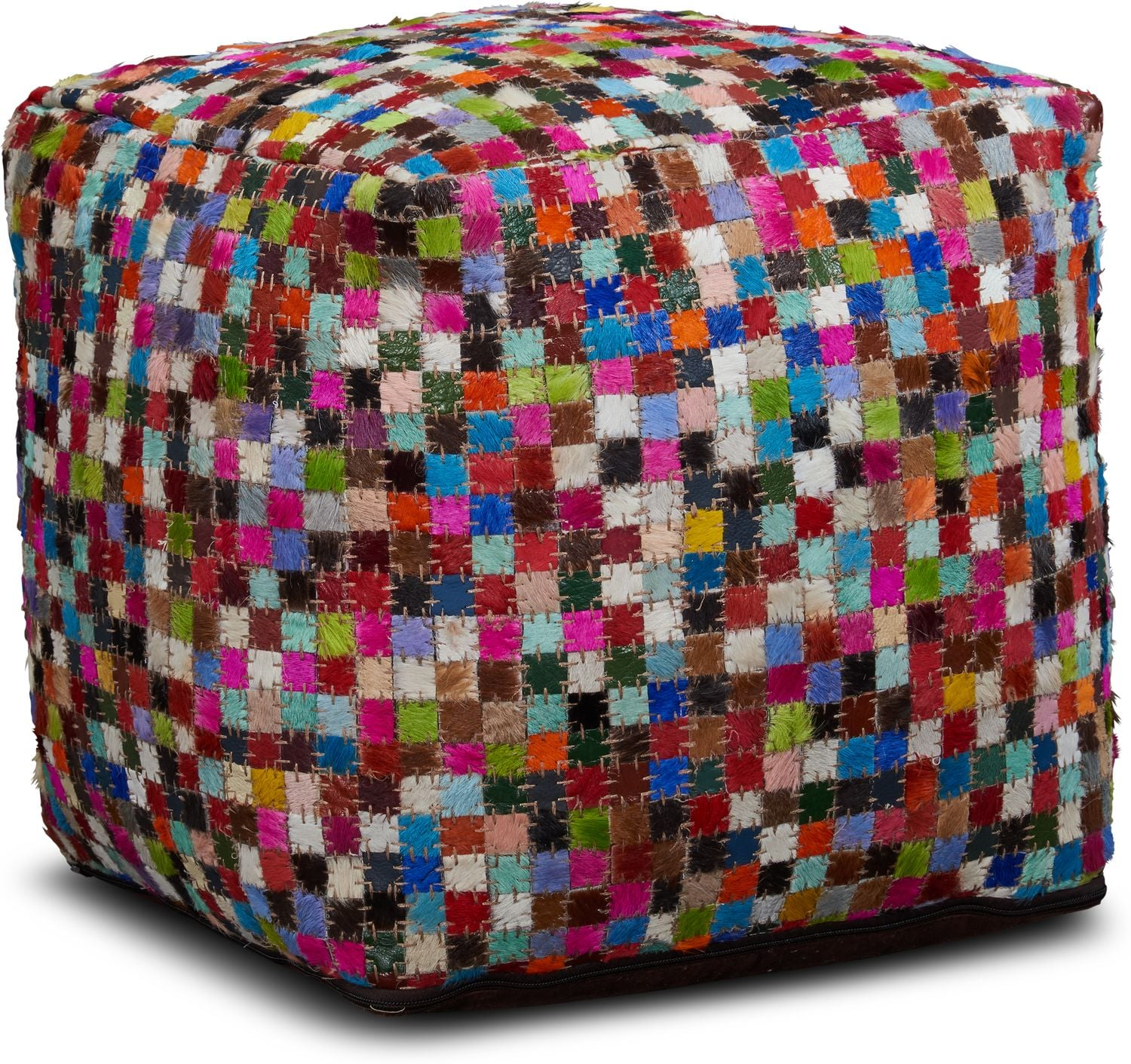Accent and Occasional Furniture - Mosaic Pouf