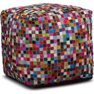 Mosaic Pouf