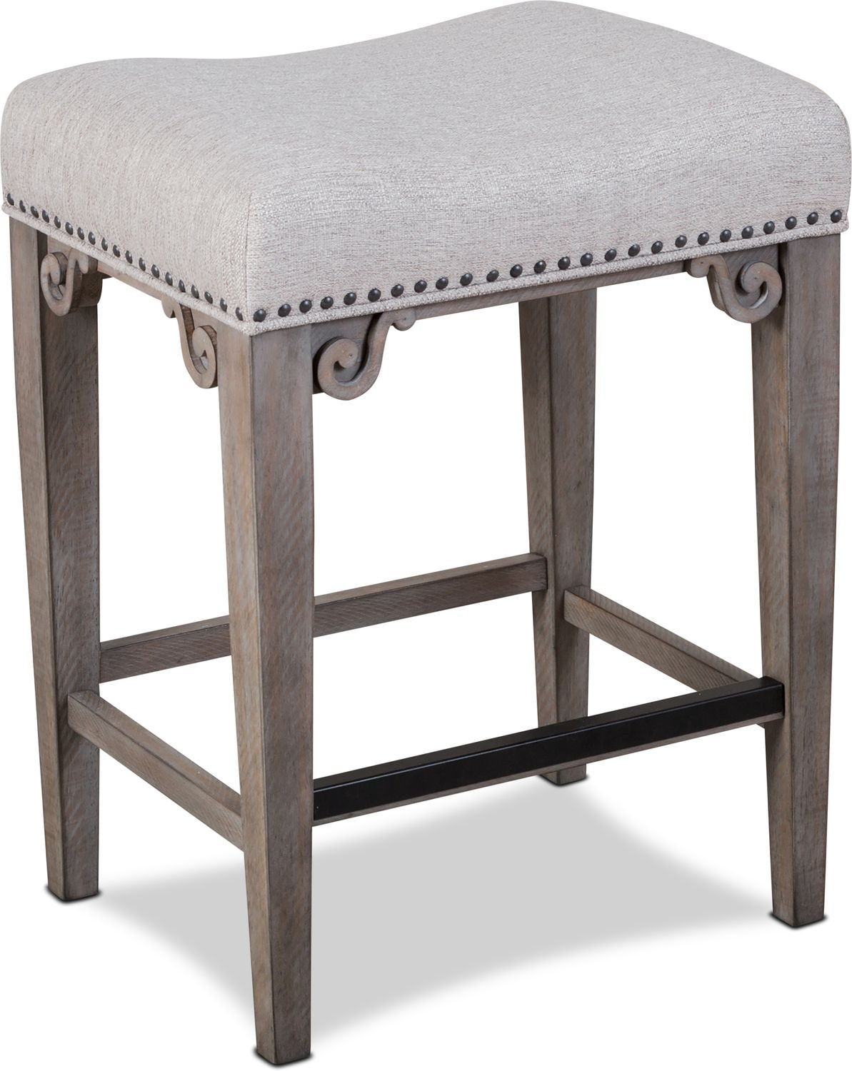 Dining Room Furniture - Charthouse Counter-Height Backless Stool