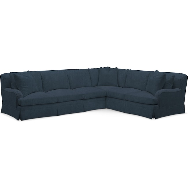 Living Room Furniture - Campbell Performance 2-Piece Large Sectional