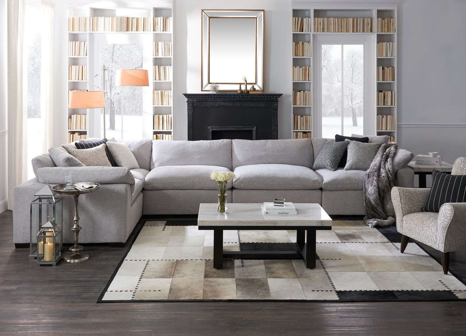 The Plush Living Room Collection