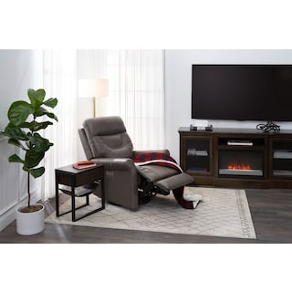 Ace Dual-Power Swivel Recliner