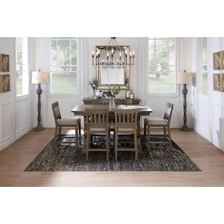 Charthouse Counter-Height Dining Table - Gray