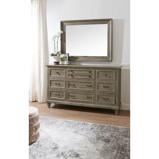 Harrison Dresser and Mirror