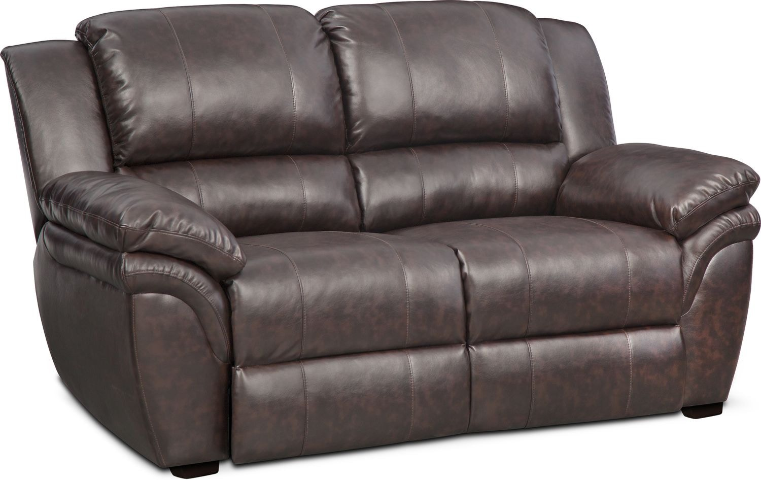 Living Room Furniture - Aldo Stationary Loveseat