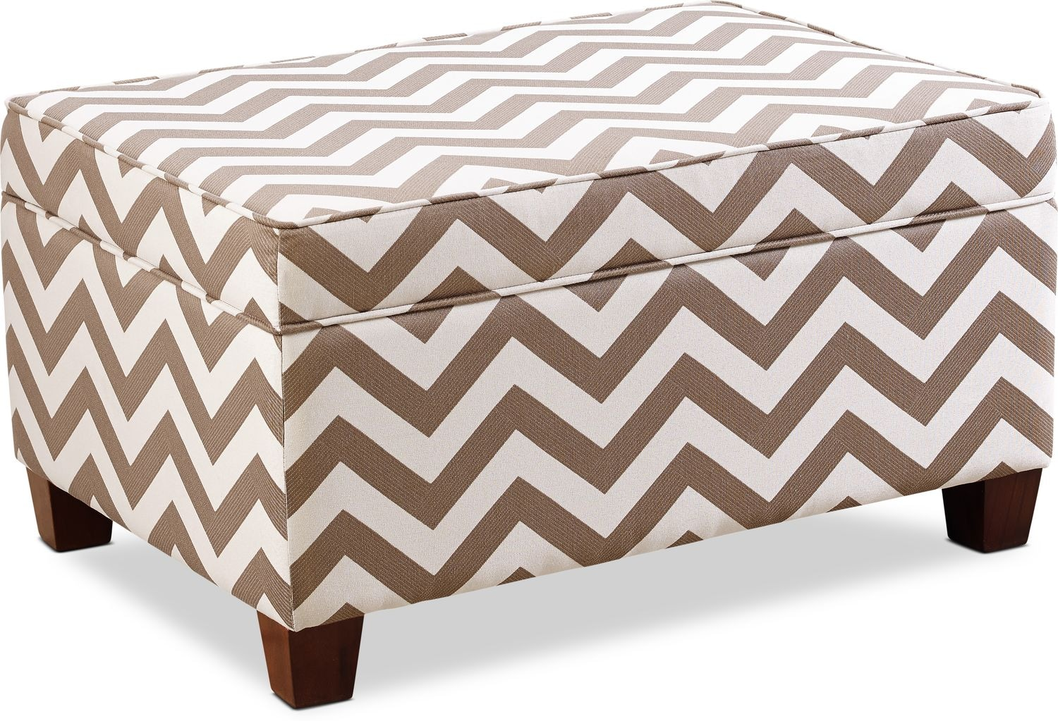 Accent and Occasional Furniture - Colby Storage Ottoman