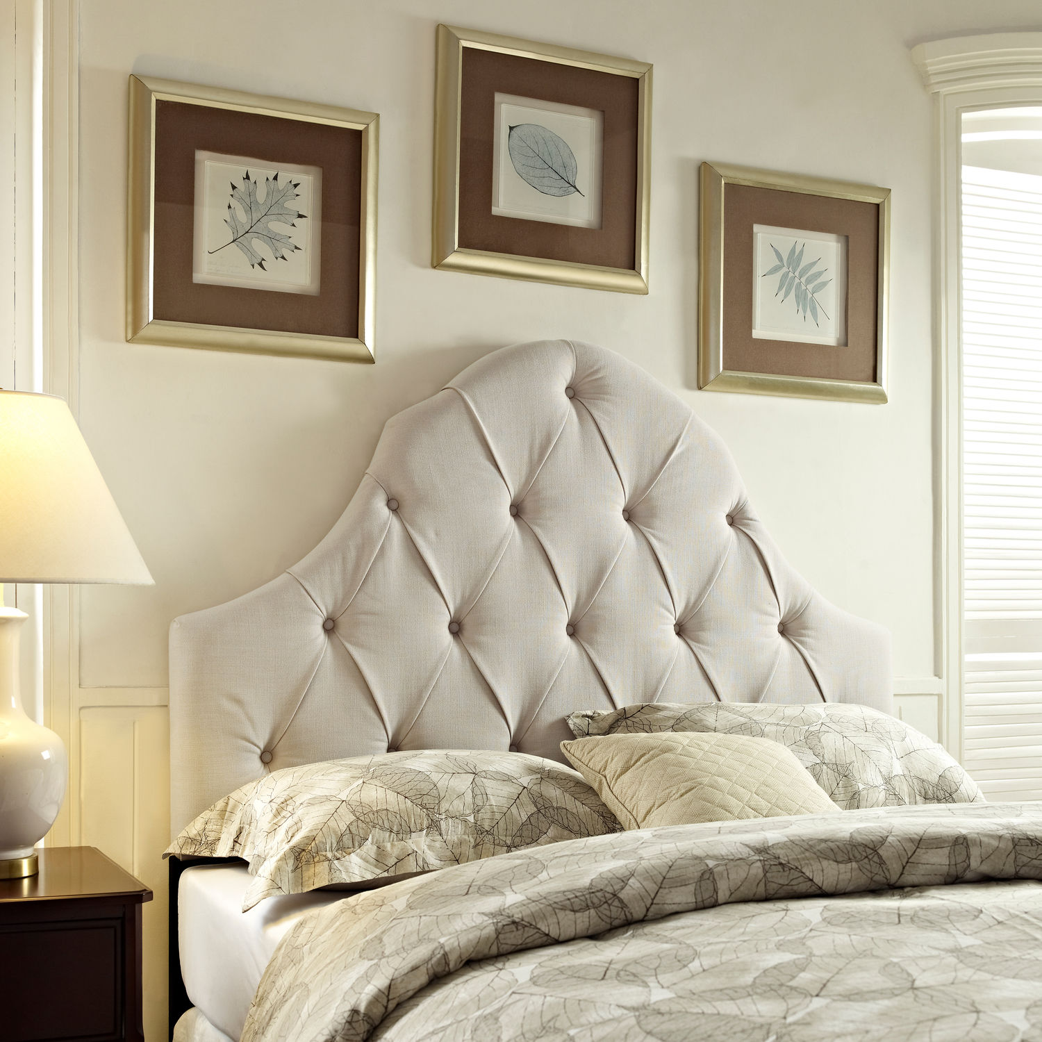 Bedroom Furniture - Oren King/California King Upholstered Headboard