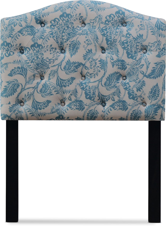 Kids Furniture - Iris Twin Upholstered Headboard