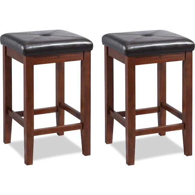 Dining Room Furniture - Marisol Set of 2 Bar Stools