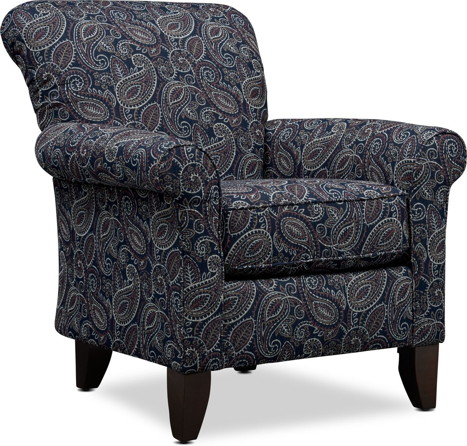 Living Room Furniture - Kingston Patterned Accent Chair