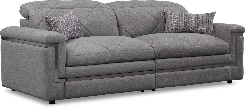 Living Room Furniture - Revel 2-Piece Dual-Power Reclining Sofa