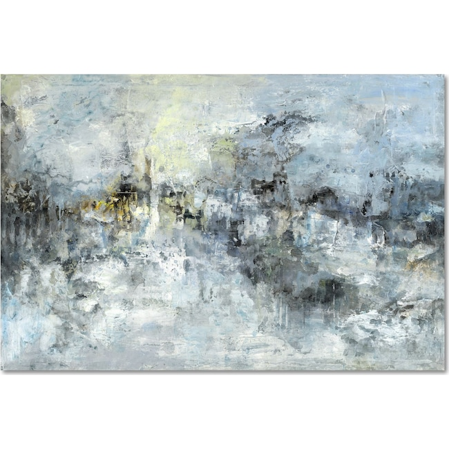 Home Accessories - Moody Blue Wall Art