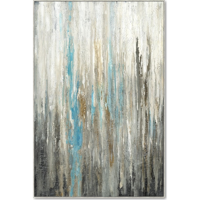 Home Accessories - Vertical Abstract Wall Art