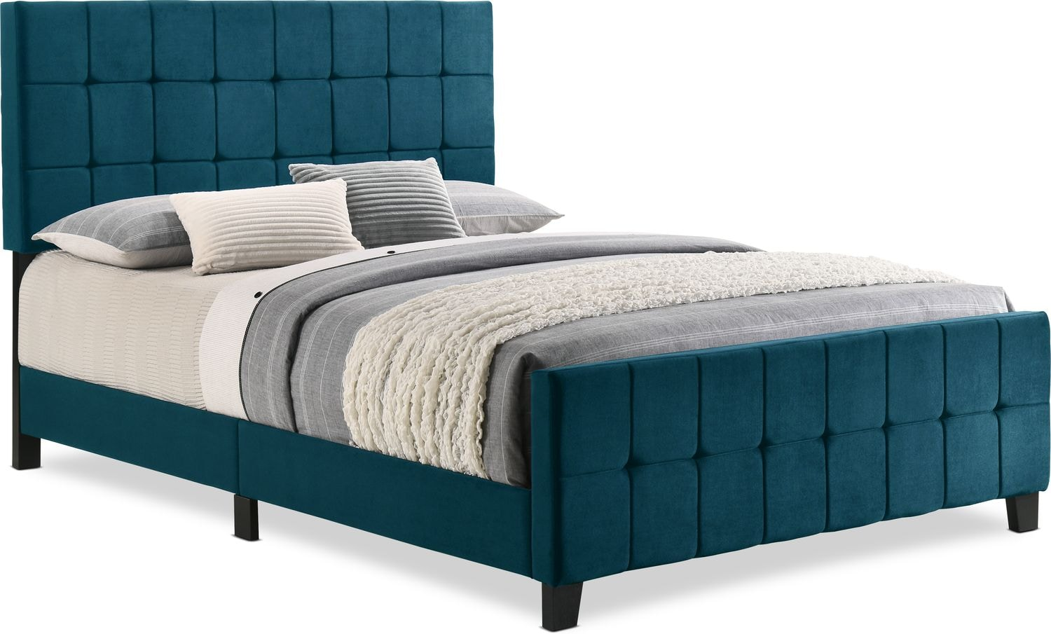 Bedroom Furniture - Hensley Upholstered Bed