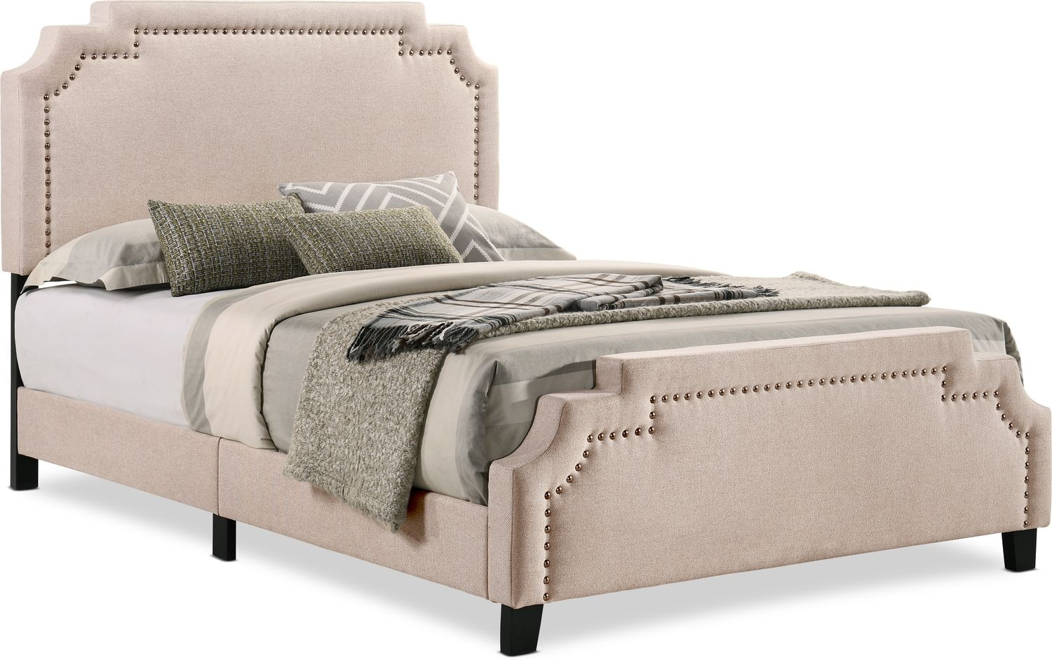 Bedroom Furniture - Drew Upholstered Bed