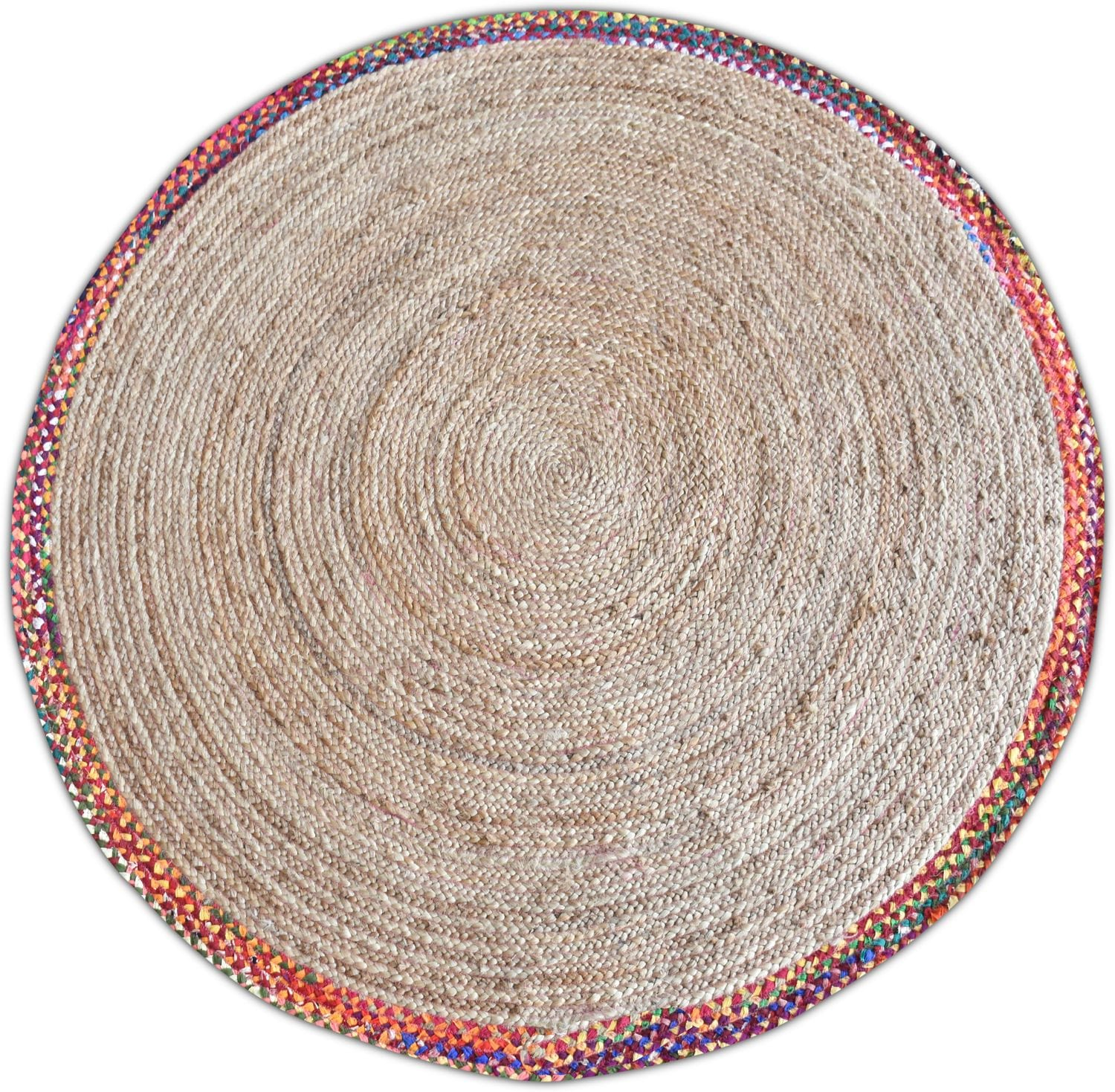 Rugs - Afono Round Area Rug - Multi