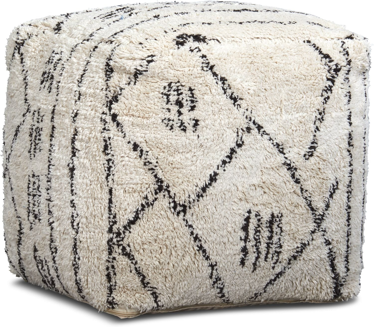 Accent and Occasional Furniture - Ceto Pouf