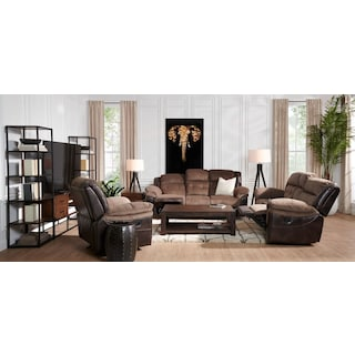 Tacoma Manual Reclining Sofa
