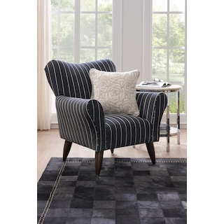 Rhys Area Rug - Black