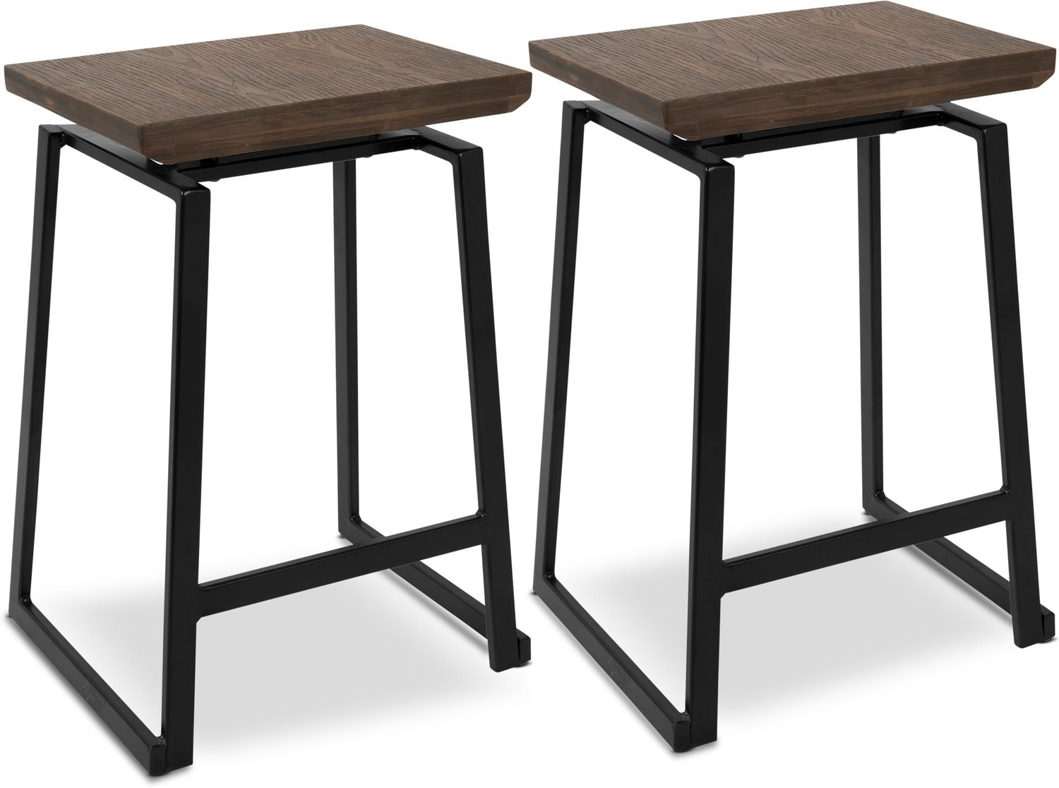 Dining Room Furniture - Ace Set of 2 Counter-Height Stools