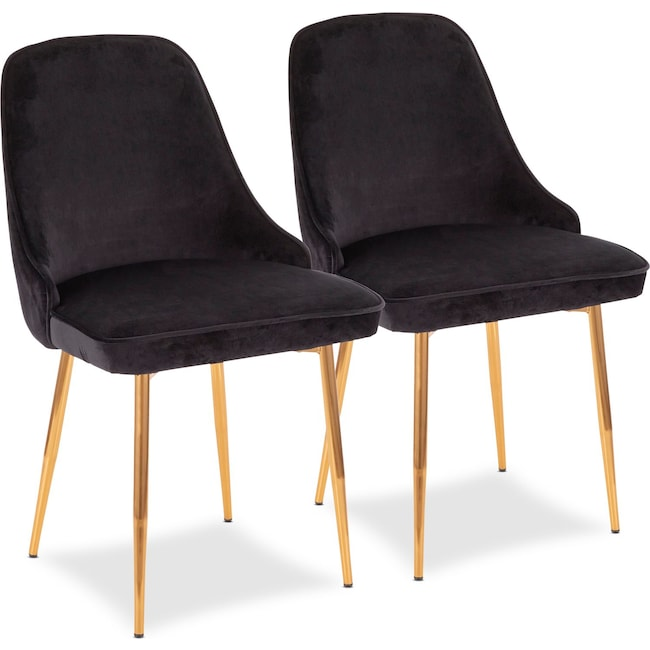 Dining Room Furniture - Ali Set of 2 Dining Chairs