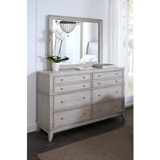 Hazel Dresser and Mirror