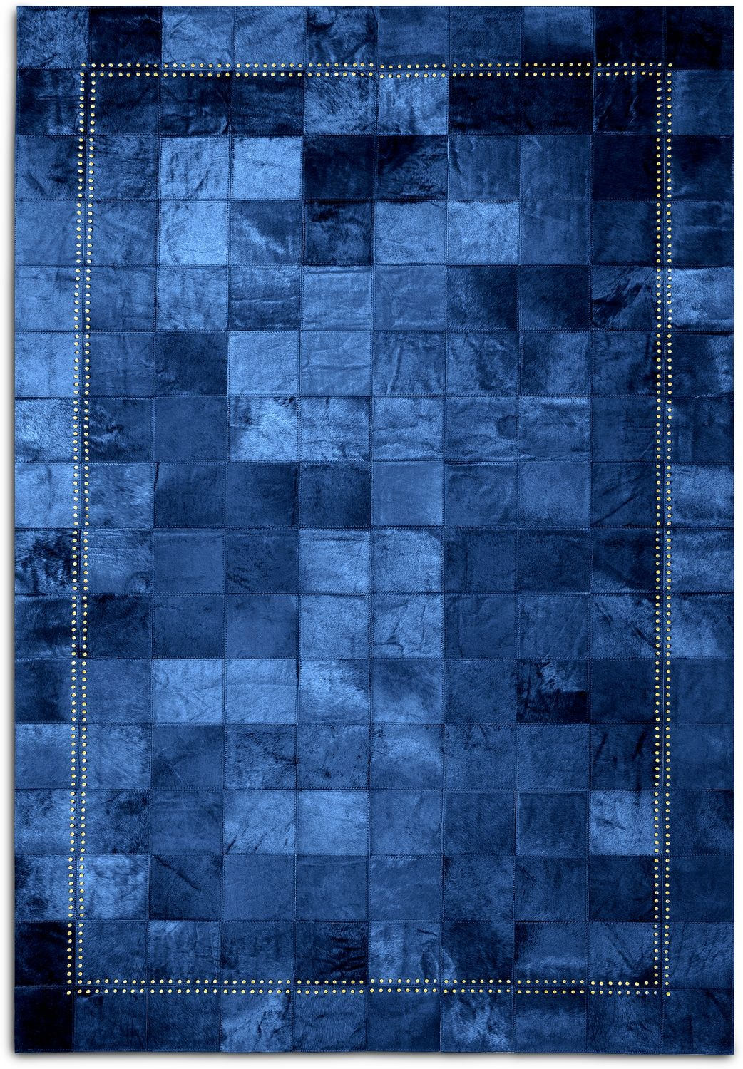 Rugs - Rhys Area Rug - Blue