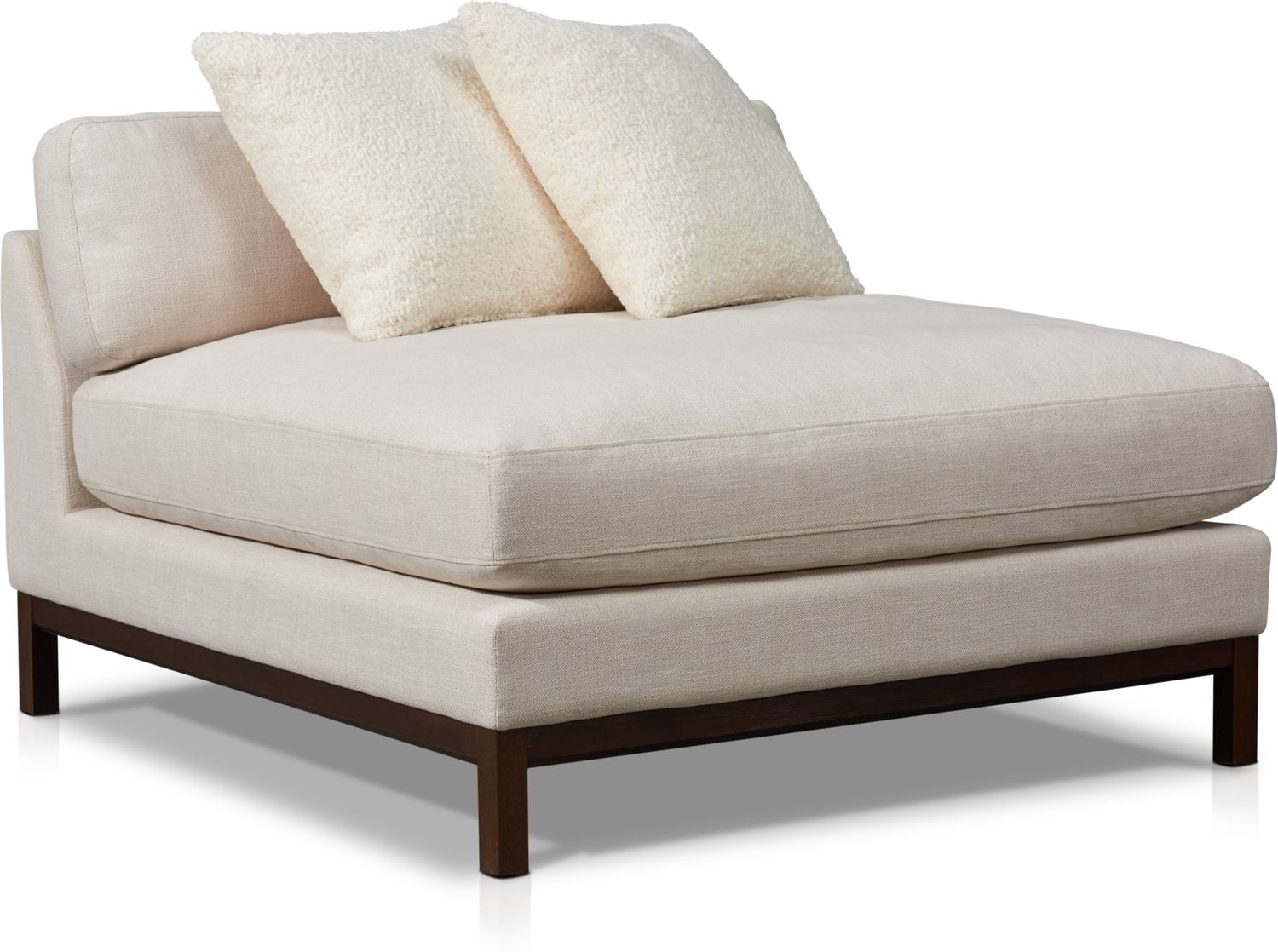 Living Room Furniture - Big Sur Armless Chair