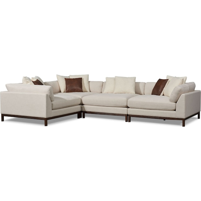 Living Room Furniture - Big Sur 4-Piece Sectional