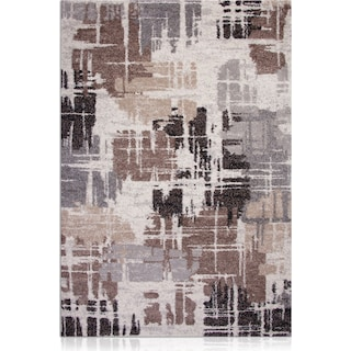 Granada 5' x 8' Area Rug - Brown and Gray