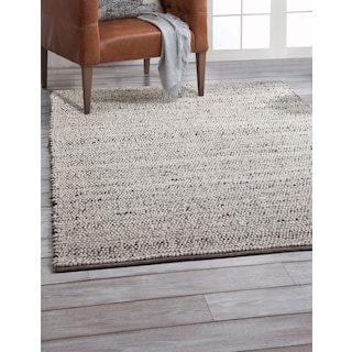 Textures 5' x 8' Area Rug - Gray