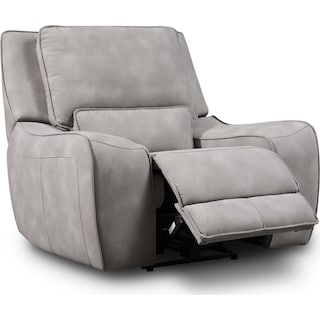 Holden Dual-Power Recliner - Stone