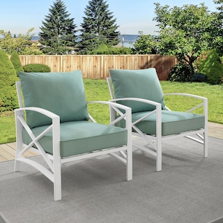 Clarion Set of 2 Outdoor Chairs