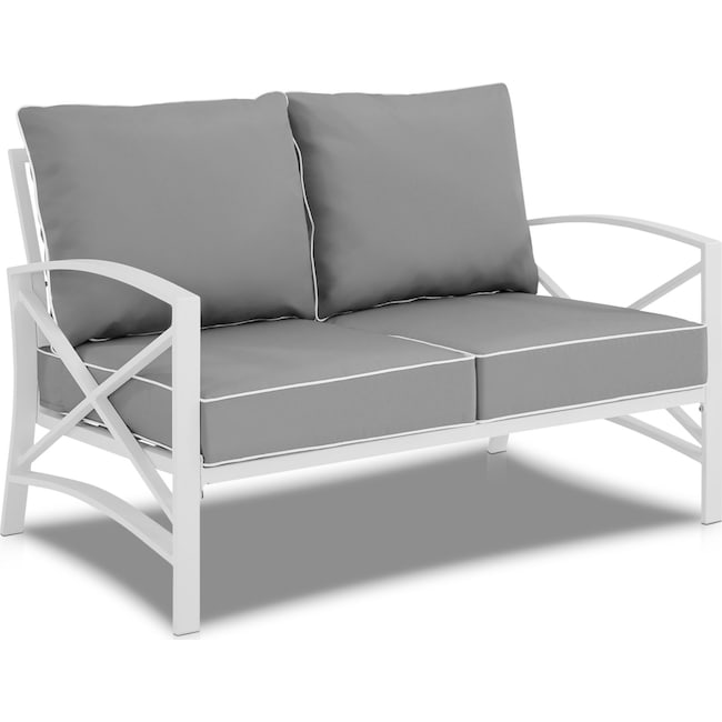 Outdoor Furniture - Clarion Outdoor Loveseat