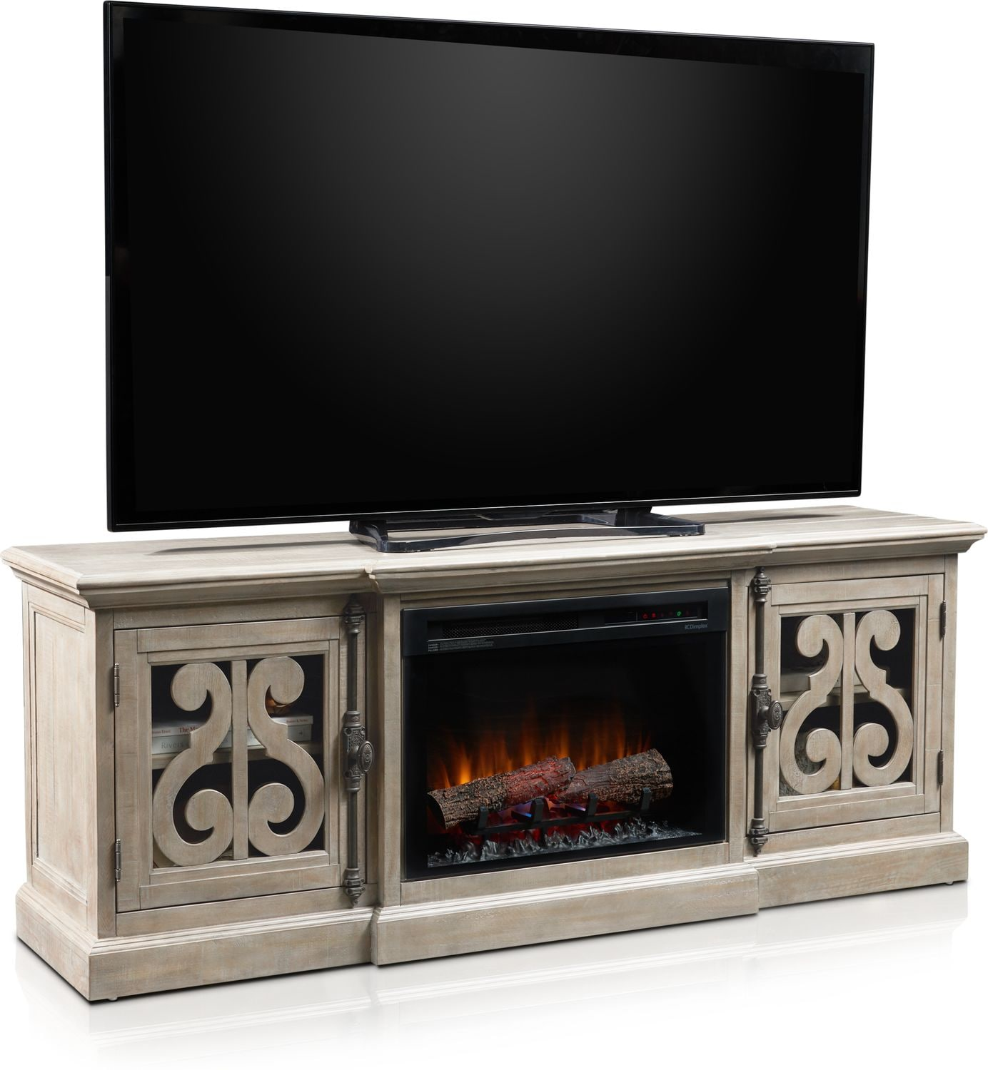 Entertainment Furniture - Charthouse Fireplace TV Stand