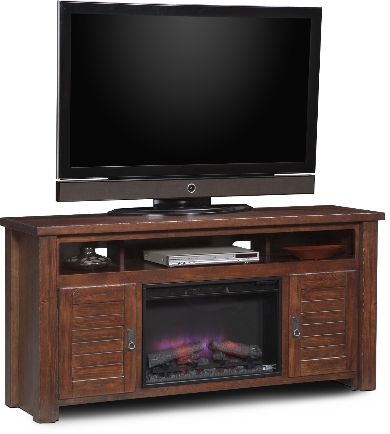 Entertainment Furniture - Prairie Fireplace TV Stand