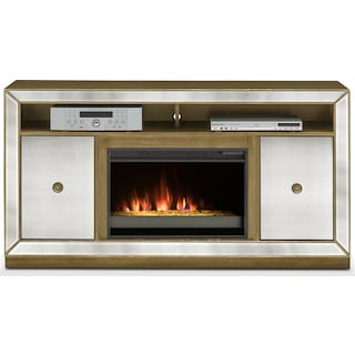 Reflection Fireplace TV Stand