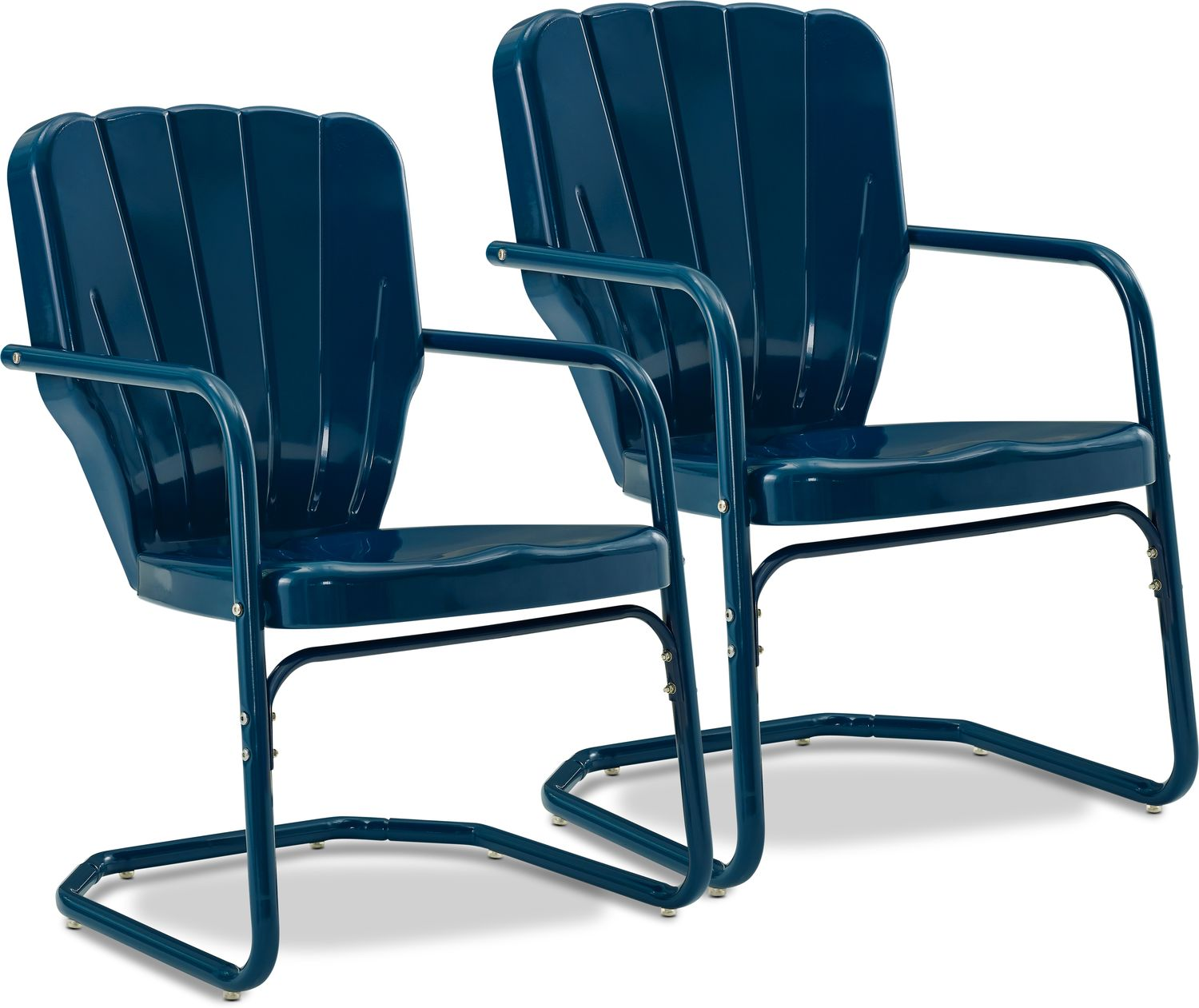 Outdoor Furniture - Jack Set of 2 Outdoor Chairs