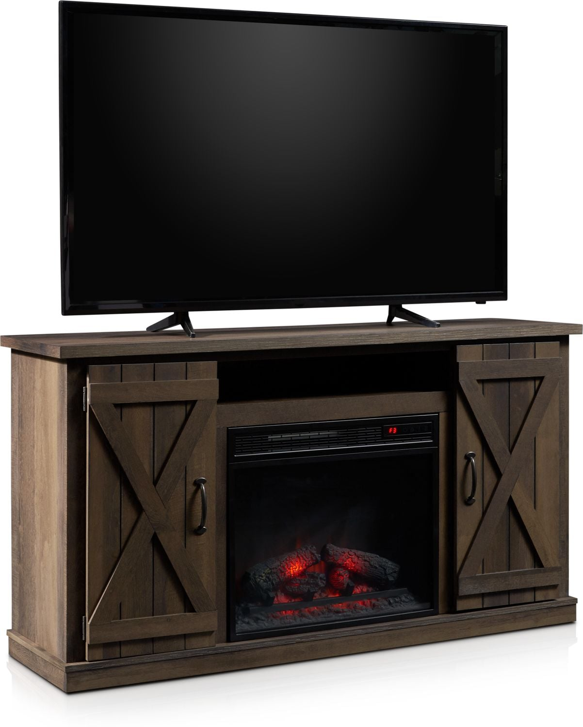 Accent and Occasional Furniture - Gablewood Fireplace TV Stand