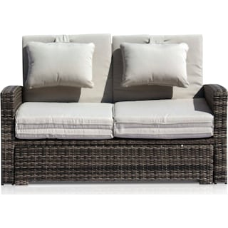 Northport Outdoor Convertible Loveseat