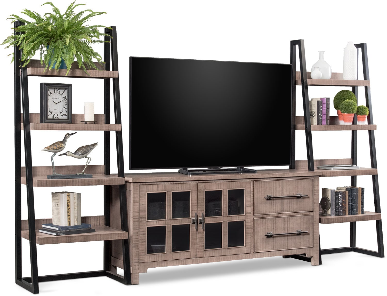 Entertainment Furniture - Tiburon 3-Piece Entertainment Center