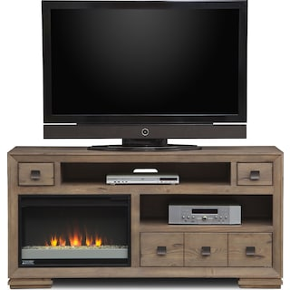 Mesa Fireplace TV Stand