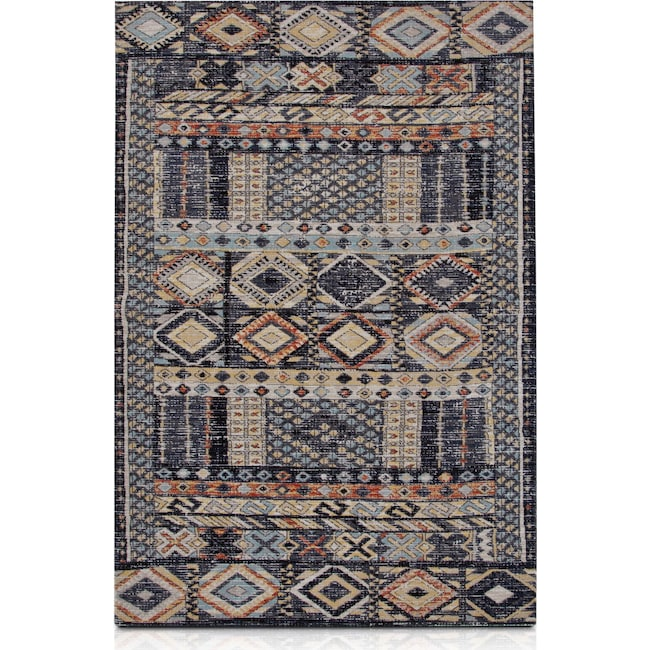 Outdoor Furniture - Palms Indoor/Outdoor Area Rug - Blue Multi